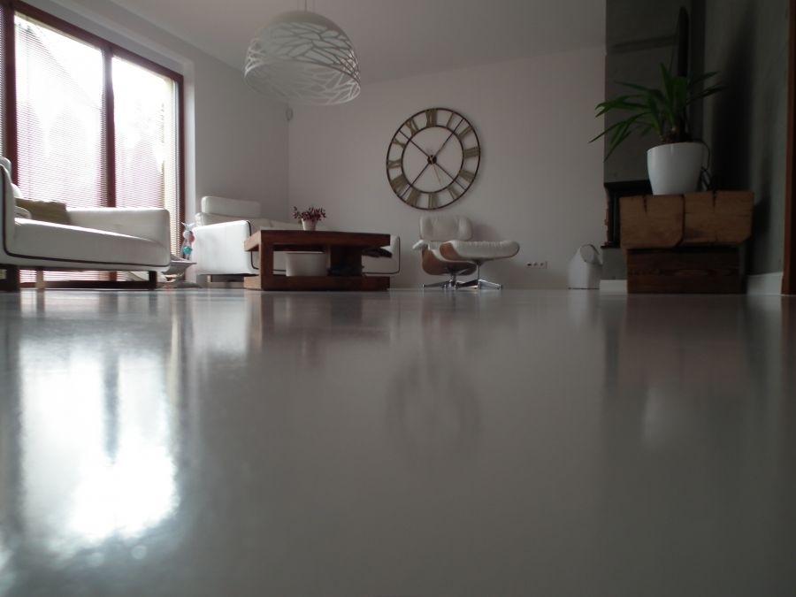 Mramorová podlaha liata